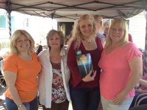 My Beta Readers - Kim, Kathy and Cheryl