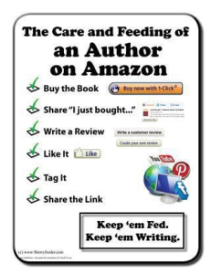 Amazon Reviews Feed Authors