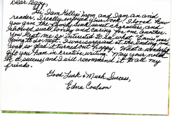 Letter Edna