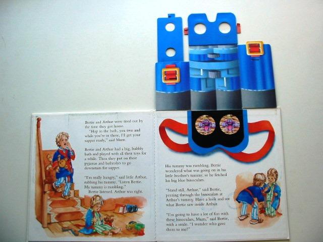 Bertie's Big Blue Binoculars