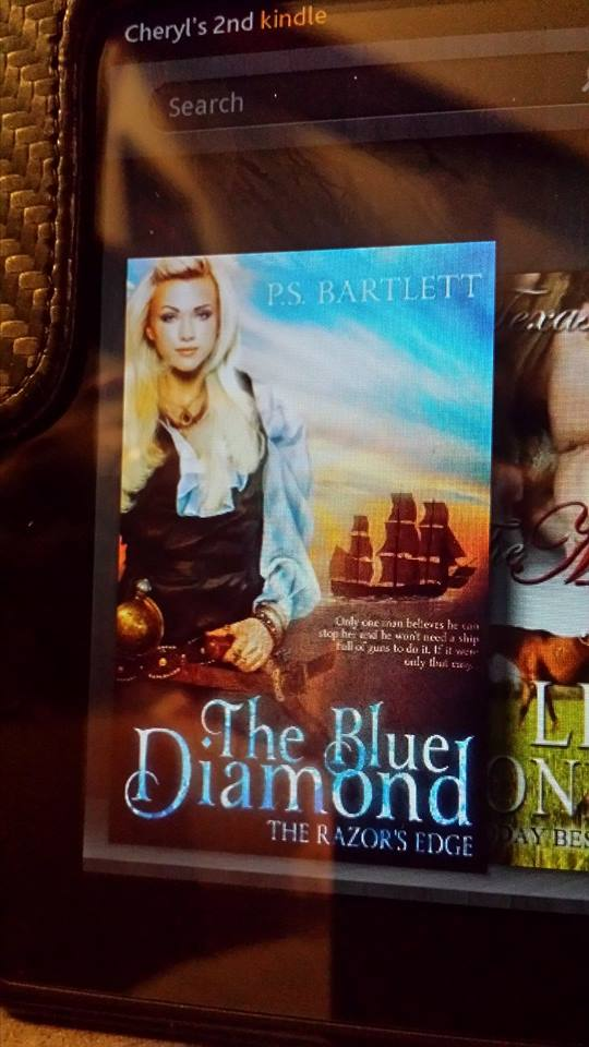 The Blue Diamond on Kindle