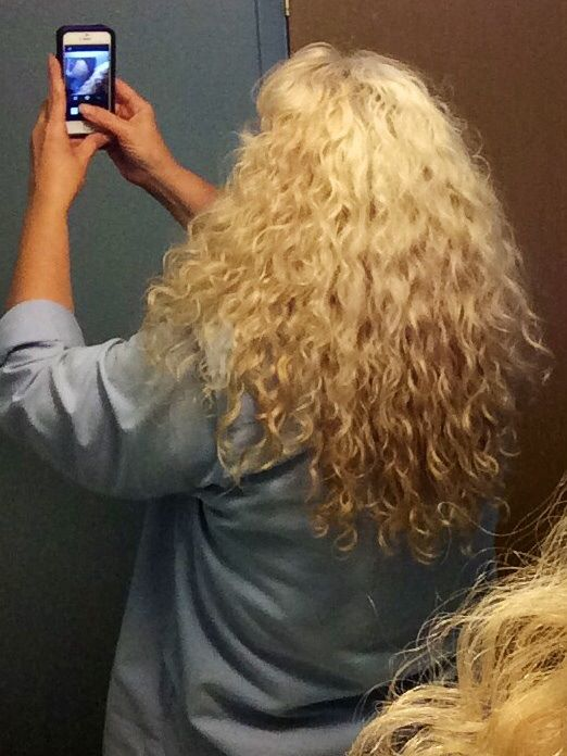 long curly