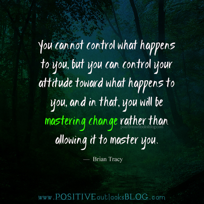 you cannot control