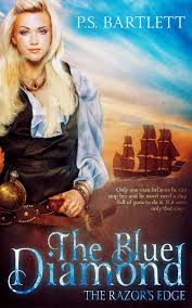The Blue Diamond The Razor's Edge by P.S. Bartlett Book Review, Blog Tour & Giveaway