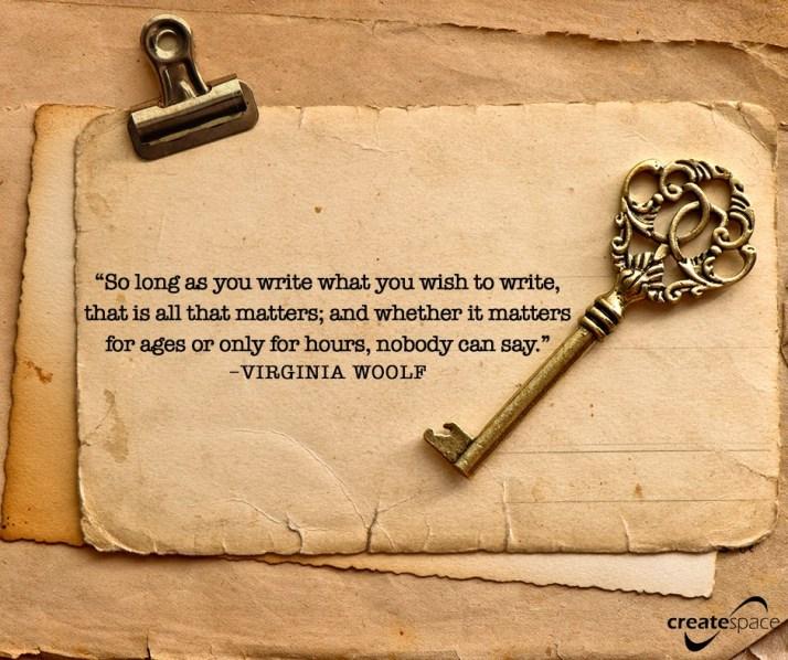 Wish to write