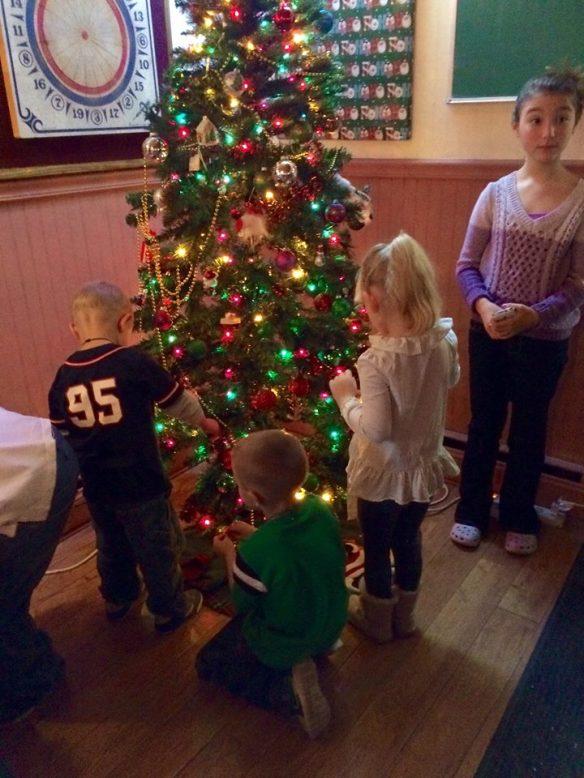 2014 Santa tree
