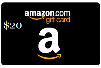 $20.00 Gift Card!