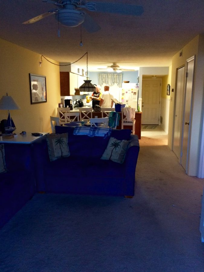 Our cheap but swanky little pad for the weekend. Okay so not swanky but super cute, cozy and homey.