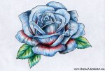 blue_rose_tattoo_by_9rayne2