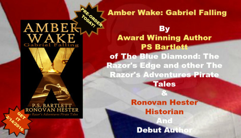 Amber Wake: Gabriel Falling by PS Bartlett & Ronovan Hester